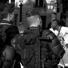 Paris - Gendarmerie. by Jean-Luc Rollier