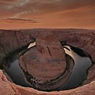 Horseshoe Bend Overlook by Wojciech Dabrowski