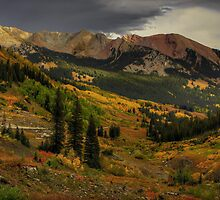 Approaching storm over Schofield Pass... by Wojciech Dabrowski