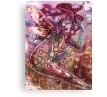 psychedelic earth faerie Canvas Print