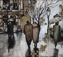Impressions of the Andrassy street by Marianna Venczak