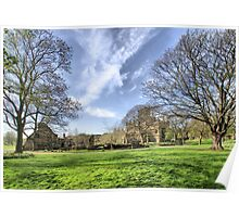 Kirkstall Abbey #3 Poster