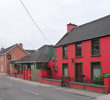 Dingle town in the off season by nealbarnett