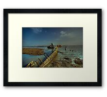 Back In The Water Framed Print