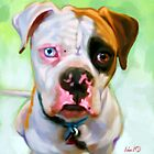American Bulldog Art Prints from Painting by Iain McDonald