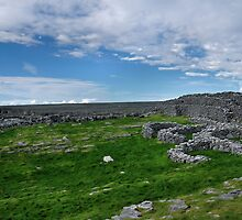 the black fort, inishmore by Michelle McMahon