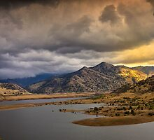 Mountain Vista - Sierra Nevada Mountains by Wendy Caine