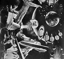 Leaving Ganymede. by - nawroski -