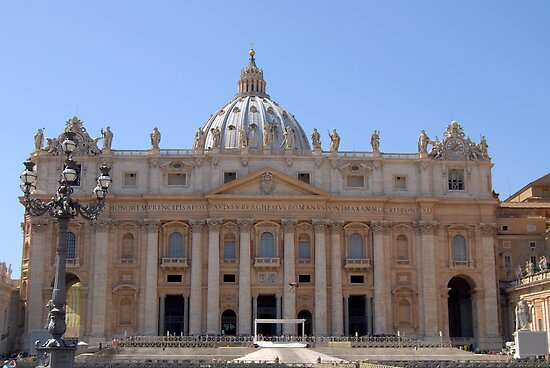 St Peter's Basilica by inglesina