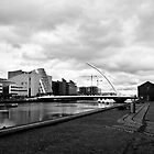 View Across The River LIffey by Paul  Sloper