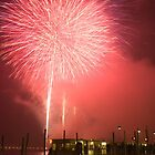 Fireworks in Venice by Ian Middleton