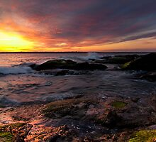 Beavertail Sunset by 02809photo