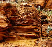 Rock Formations by Julia Harwood