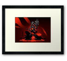 The Black King's Pawn Framed Print