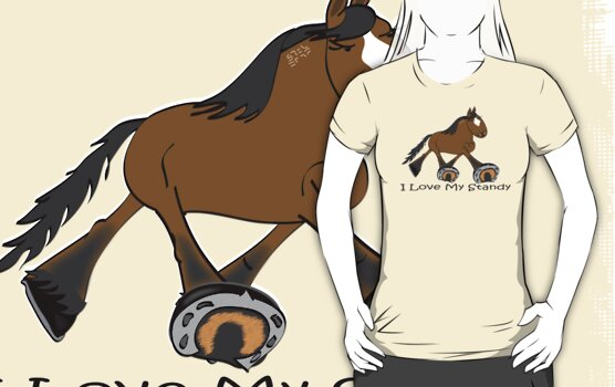 I Love my Standardbred by Diana-Lee Saville
