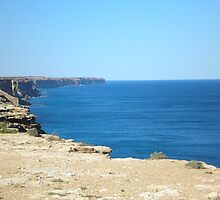 Misty Cliffs Great Australian Bight by MalcolmJUren