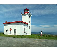 Caribou Island Lighthouse Photographic Print