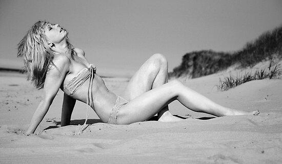 Beach Bardot by Roger Mann