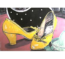 1940s Shoes on Laminex. Photographic Print