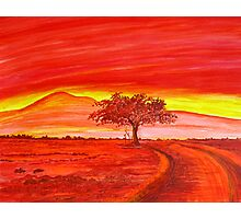 The Good Red Earth Photographic Print