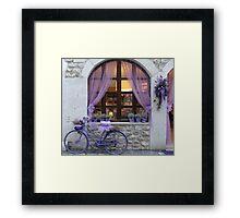 Celebrating the lavender harvest Framed Print