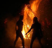 Beltane Bonfire by Marc Roberts