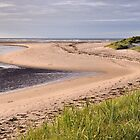 Budle Bay - Northumberland by Dave Lawrance