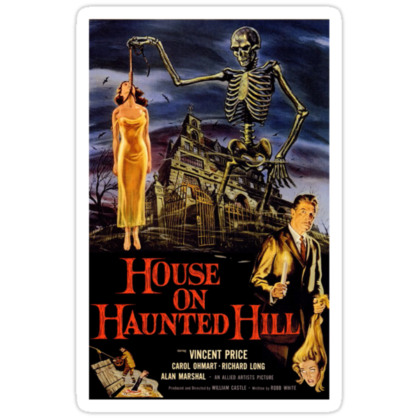 House On Haunted Hill by Jenn Kellar