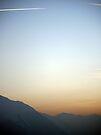 Swiss Alps Sunset by Ryan Davison Crisp