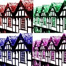 Tudor Houses - Chester UK by PhotogeniquE IPA