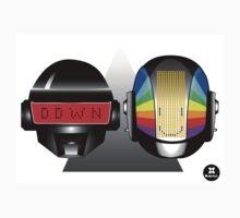 daft punk robots alive  by dadawan