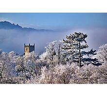 Hoar Frost, Cheltenham, England Photographic Print