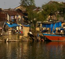Hue River Life 4 - Panorama by Jordan Miscamble