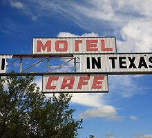 Route 66 - Glenrio, Texas by Frank Romeo