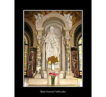 St. Anne and St. Mary Statue Photographic Print