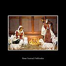 Nativity Manger Scene - Christmas Creche by Rose Santuci-Sofranko
