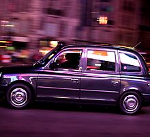 London glowing Taxi by remos