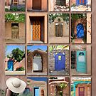 Doors of New Mexico version 2 by Heidi Hermes