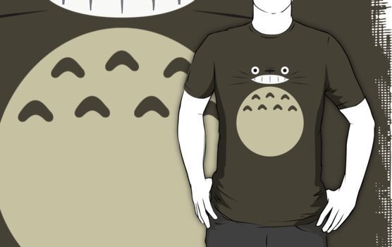 Totoro Shirt Design by Sam Lewis