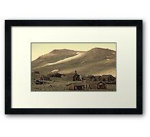 Bodie California Framed Print