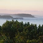 Yamba Sea Scenery by Virginia McGowan