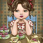 cupcakes and tea by vian