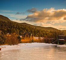 The Frozen Sunrise by John  De Bord Photography