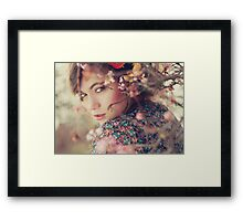 New plant Framed Print