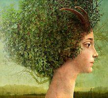 mystic tree by Catrin Welz-Stein