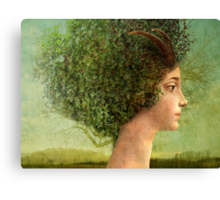 mystic tree Canvas Print