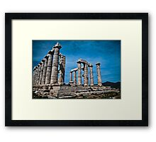LAND  OF  THE  GODS...! (1).. Framed Print