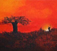 Serengeti Sky by Shirley Shelton