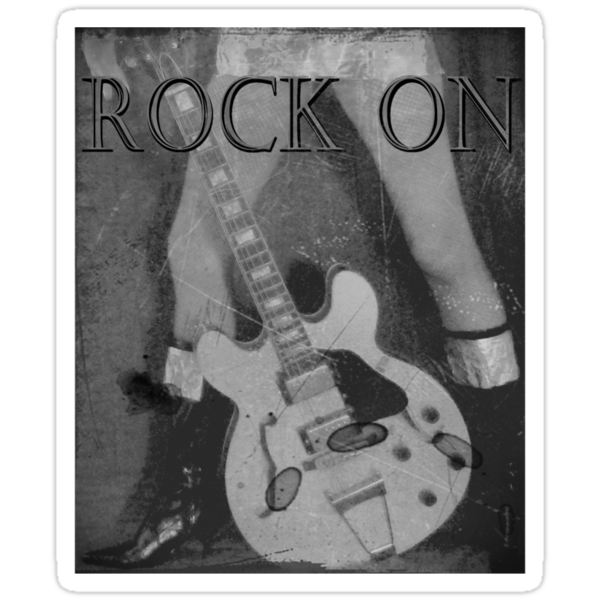 Rock On Tee by Margaret Bryant