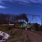 &quot;Flying Scotsman&quot; &amp; 3801 @ Springwood, Australia by muz2142